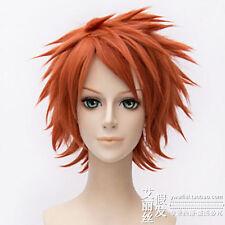 Nagato Naruto Pain Kurosaki Ichigo Anime Cosplay Costume Wig (Need Styled) +CAP: