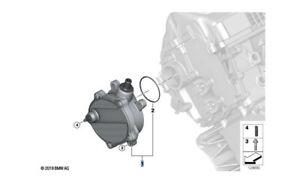 BMW 11667635657 VACUUM PUMP NEW GENUINE suits E53 E60 E63 E64 E70 4.4i 4.8i N62