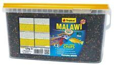 ~Tropical Malawi Chips 5l / 2.6kg~ Bucket CICHLID MALAWI MBUNA FISH FOOD NEW