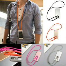 Universal Silicone lanyard Neck Hanging Rope Phone Strap For Cell Mobile Phones