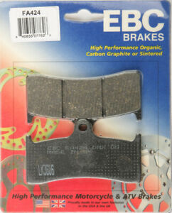 EBC BRAKE PADS Fits: Buell M2 Cyclone,S1 Lightning,S3 Thunderbolt,X1 FA424