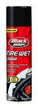 Black Magic Tire Wet Foam Auto Car Care Cleaner Extreme Shine for Wheels 18 oz