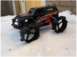 Traxxas LaTrax Teton - Snow Wheels (4) 93mm: 1/18 LaTrax Teton FREE SHIPPING!