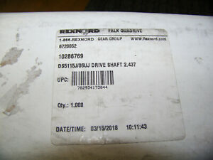 Rexnord falk quadrive DS5115J/06UJ drive shaft 2.437