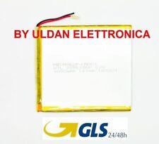 BATTERIA TABLET PC 3,7V 4000 mAH - Dimensioni 10,6 cm * 9,5 cm * 0,3 cm