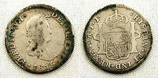 FERNANDO VII 2 REALES 1815 JJ MEJICO VF-/MBC-SILVER/PLATA 6,50 g. ESCASA