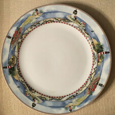 Lighthouses Charm American Atelier At Home SIGNALS 5100 Porcelain Dinner Plate