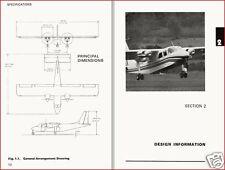 BRITTEN-NORMAN BN-2 ISLANDER MANUAL RARE HISTORIC ARCHIVE 1960's 1970's
