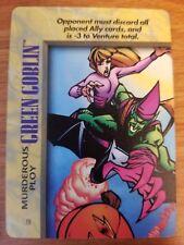 Marvel Overpower IQ Green Goblin Murderous Ploy NrMint-Mint Card