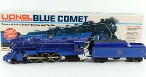 Lionel 6-8801 Blue Comet 4-6-4 Steam Locomotive w/ Tender 8801 O Gauge