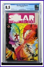 Solar Man Of The Atom #4 CGC Graded 8.5 Valiant November 1991 Comic Book
