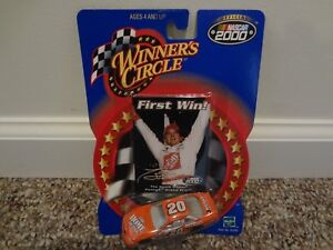 1/64 Winners Circle TONY STEWART #20 HOME DEPOT First Win Pontiac 2000 mint