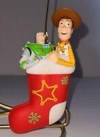 2011 Buzz and Woody Hallmark Ornament Disney Pixar Toy Story