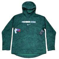 Nike Michigan State Spartans Hoodie Sweatshirt, Size Large NWT CD1813-330