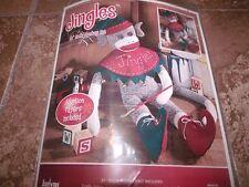 "Janlynn Christmas JINGLES SOCK MONKEY Kit Adoption Papers 21"""