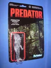 "PREDATOR CLEAR MASKED PREDATOR Rare Funko ReAction 3.75""  FIGURE"