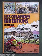 LES GRANDES INVENTIONS  ILL L NORTIER TEXTE JACQUES MARSEILLE HISTOIRE JUNIORS