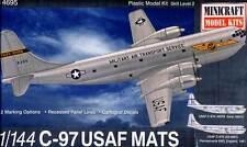 Minicraft - USAF C-97 MATS Early C-97A / 1967 C-97G 1967 Modell-Bausatz 1:144