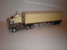 1/43 1984 Kenworth K100E Aero Dynes Tractor/Truck with sami trailer / Handmade