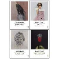 Roald Dahl 4 Books Collection Set Deception, Madness, Cruelty, Lust NEW