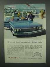 1960 Pontiac Bonneville Convertible Car Ad