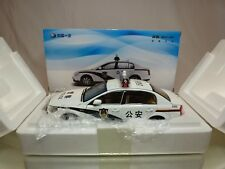 CHINA FAW BESTURN B70 POLICE  - 1:18 VERY RARE - EXCELLENT IN BOX - NOT AUTOART