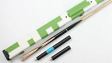 """Weichster 3/4 Jointed Handmade Snooker Pool Cue Case Ext. 9.2mm 58-1/4"""" 18.4oz"""