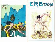 ERB-DOM #48 - Edgar Rice Burroughs fanzine - Tarzan in TIP TOP COMICS