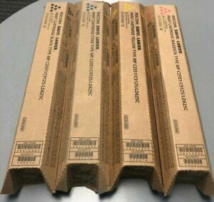 Ricoh 841586 841501 841502 8401503 Toner Set CMYK Genuine New Sealed