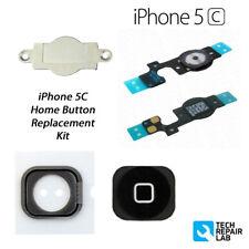 NUEVO Premium Recambio Completo Botón De Inicio Kit reparación para iPhone 5c -
