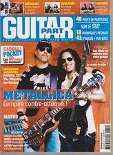 GUITAR PART N°172 + DVD METALLICA /MODE DU SLIM / AIRBOURNE / ARCH ENEMY / CLYRO
