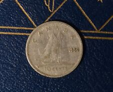 Canada 1954 10 CENT - Low Mintage Dime - Nice Coin Book filler