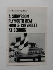 1964 Chrysler News Magazine Plymouth