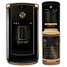 Motorola RAZR2 V8 Luxury Edition  GOLD Accessories & GSM UNLOCKED Flip phone