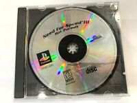 Need for Speed III/3: Hot Pursuit Sony PlayStation 1 PS1 Game Disc Only TESTED!