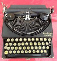 antike Schreibmaschine Remington Portable, ca. 1927, guter Zustand