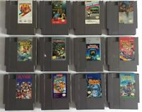 Nintendo NES Lot 1 Of Classic Games Free Shipping
