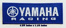 YAMAHA Racing motorcycle Logo  iron on,sewing on,Patch on,decorate on Fabric