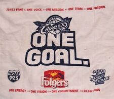 NBA CLEVELAND CAVS BASKETBALL 09 PLAYOFF RALLY TOWEL ARENA PROMO FOLGERS VARIANT