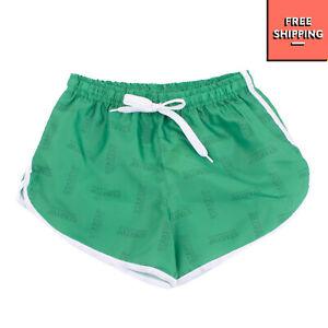 START UP Jogger Shorts Size 8Y Logo Print Drawstring Waist Made in Italy