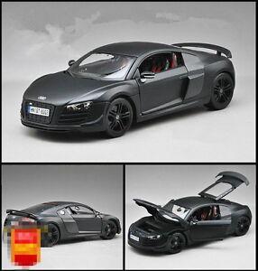 Maisto Audi R8 GT Scale Tail Ver. 1/18 Black Diecast Car Model