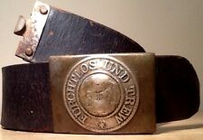Kingdom of Wurttemberg Pre-1871 German Empire,Enlisted Man's Belt & Brass Buckle