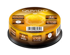 25 QUVIDO DVD-RW 4.7GB 4x in Spindel