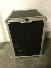 """16 Space Road Case 21"""" x 26"""" x 35"""" was an Amp rack Used good condition Asa Case"""