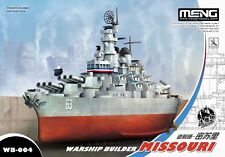 Meng Models Warship Builder - USS Missouri (BB-63) Egg Ship