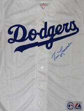 Dodgers Tommy Tom Lasorda Autographed Signed Majestic Jersey JSA #W176033