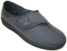 Mens Dunlop Arthur Touch Fastening Washable Adjustable Slippers Size 10
