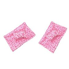 """2 Sets Lovely Sleeping Bag Pillow Eye Patch Pink for 18"""" AG American Doll Doll"""