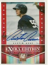 Austin Aune 2012 Elite Extra Edition EEE Prospects on-card Auto #d/699 - YANKEES