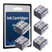 5 FULL SETs CHIPPED inks for iP4200 PGI-5BK CLI-8 PGI-5